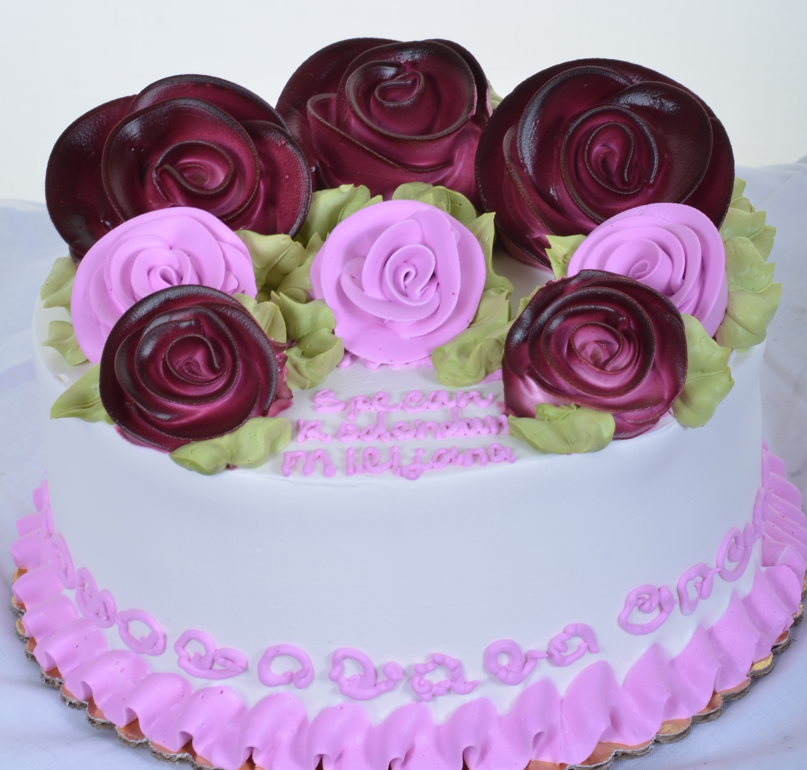 Happy Birthday Cake Roses Brithday Cake
