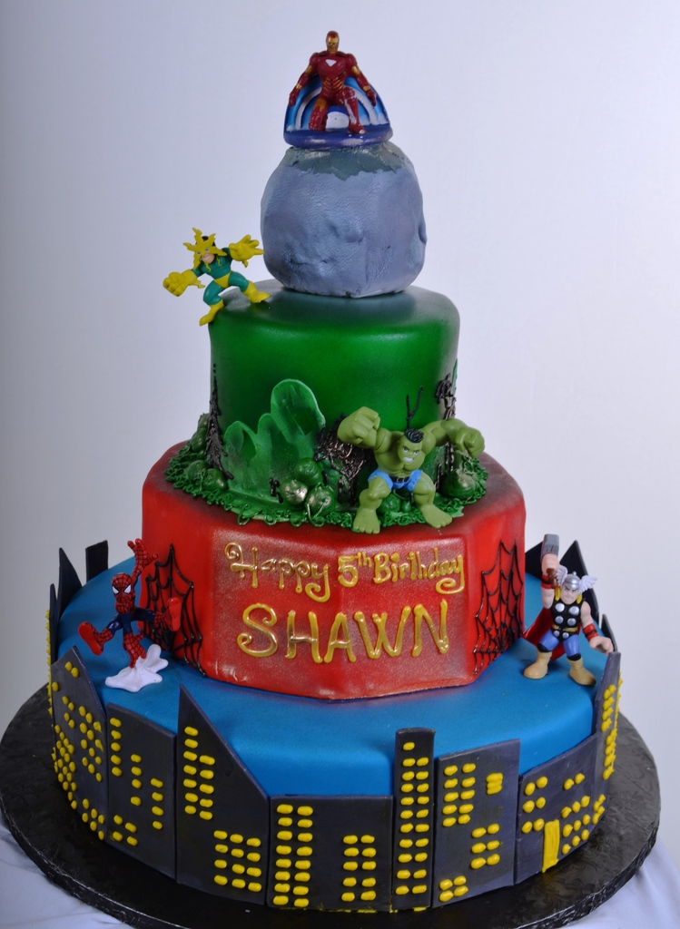 680 Super Heroes Wedding Cakes Fresh Bakery Pastry Palace