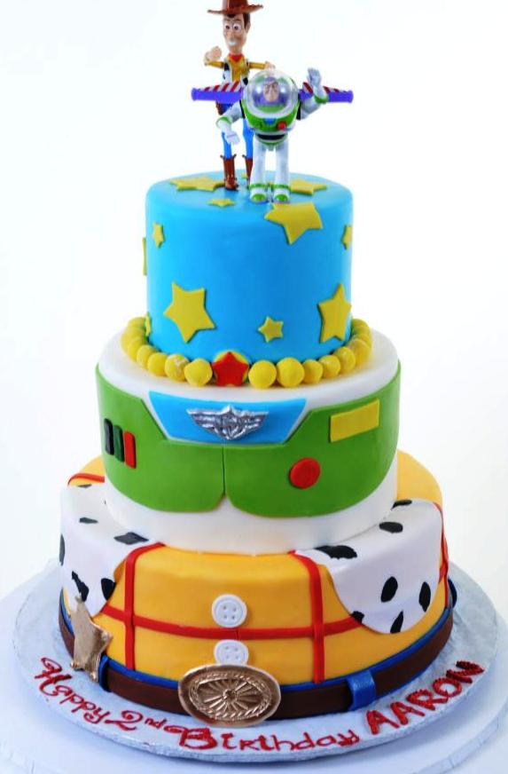 Woody And Buzz Cakes Ideas