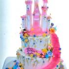 Pastry Palace Las Vegas Birthday Cake 1278 - Pink Castle