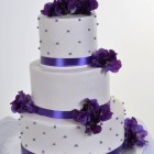 Pastry Palace Las Vegas - Wedding Cake 798 - Color Me Violet