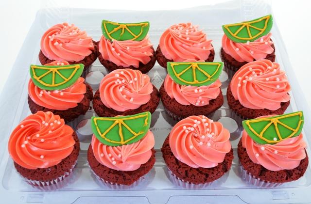 Pastry Palace Las Vegas Cupcakes #1396-Tequila