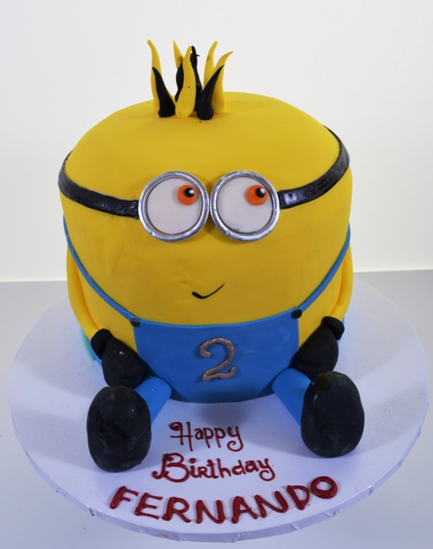 Pastry Palace Las Vegas - Birthday Cake #1485 - Despicable Me