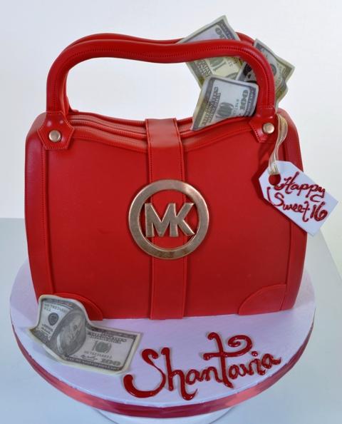 Pastry Palace Las Vegas Cake #1563 - Michael Kors