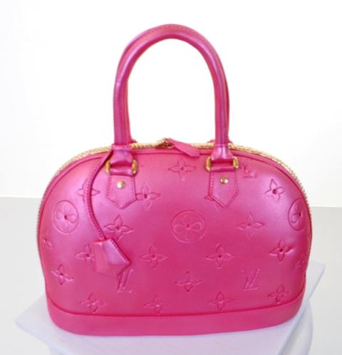 Pastry Palace Las Vegas Cake #1595 - Vuitton in Pink