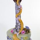 Pastry Palace Kids Cake #1569 - Rapunzel, Rapunzel