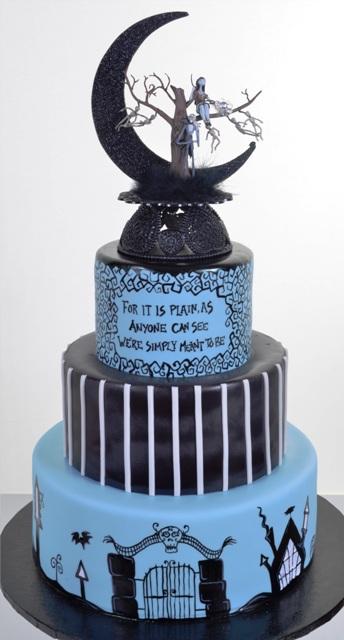 Jack Skellington Wedding Cake