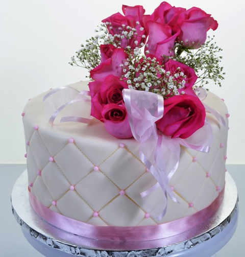 1770 - Tufted Pink Roses