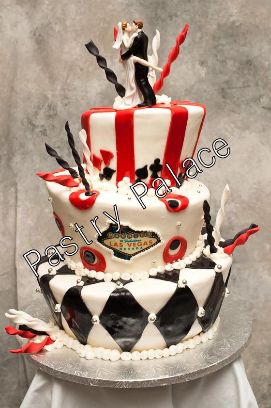 Strange Viva Las Vegas Themed Wedding Cakes Wedding Cakes Fresh Personalised Birthday Cards Petedlily Jamesorg