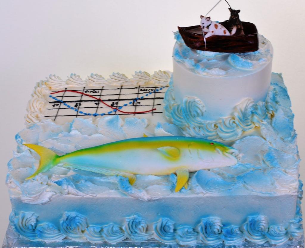 Pastry Palace Las Vegas - Cake #243 - Goin' Fishin'