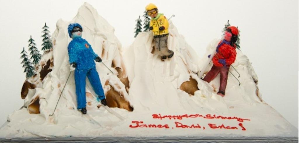 Pastry Palace Las Vegas - Cake #400 - Ski Party