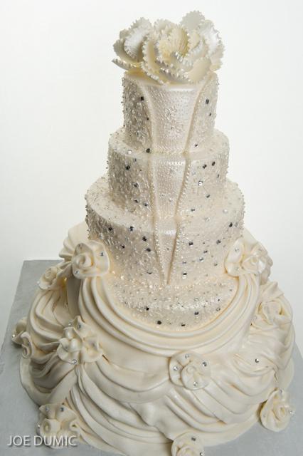 Pastry Palace Wedding Cake #575