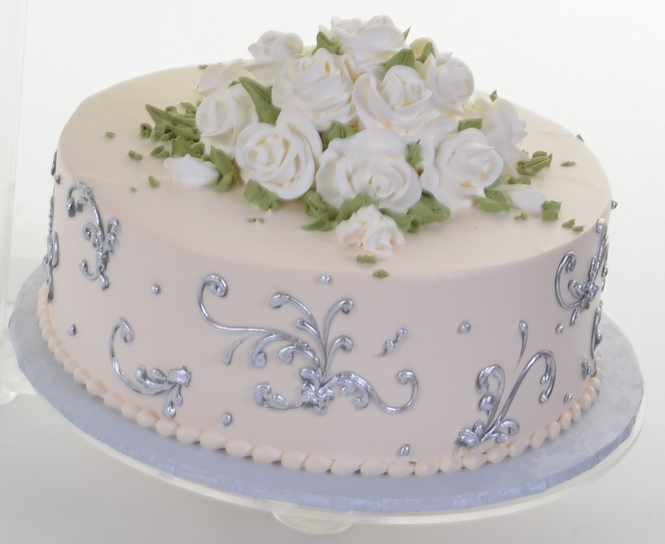 Single Tier Wedding Cakes – Wedding Cakes | Fresh Bakery | Pastry ...