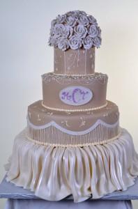 Pastry Palace Wedding Cake #601