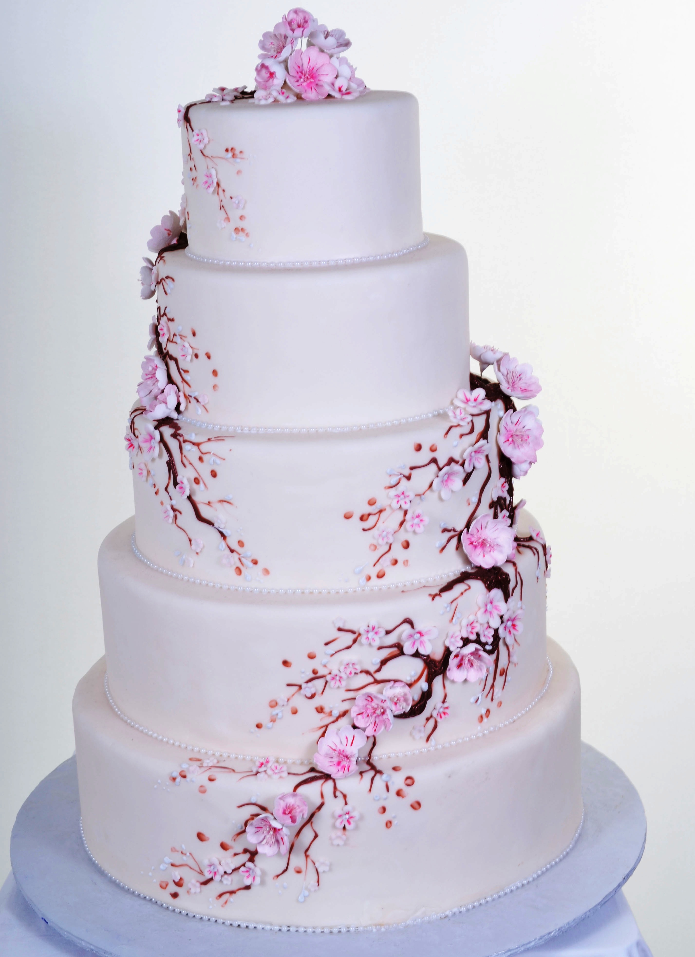 Pastry Palace Las Vegas Cake #602 - Cherry Blossoms V