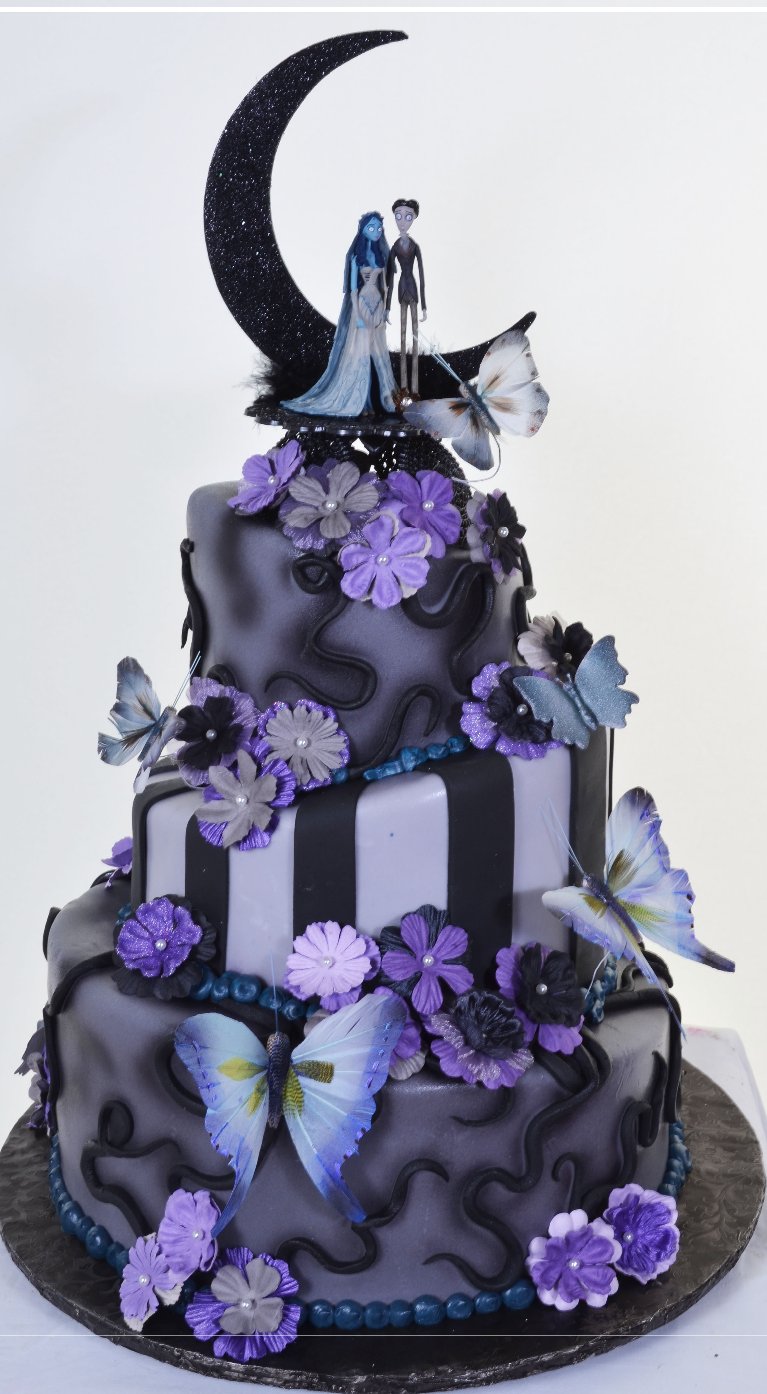 Pastry Palace Las Vegas - Wedding Cake #603 - Butterfly Moon