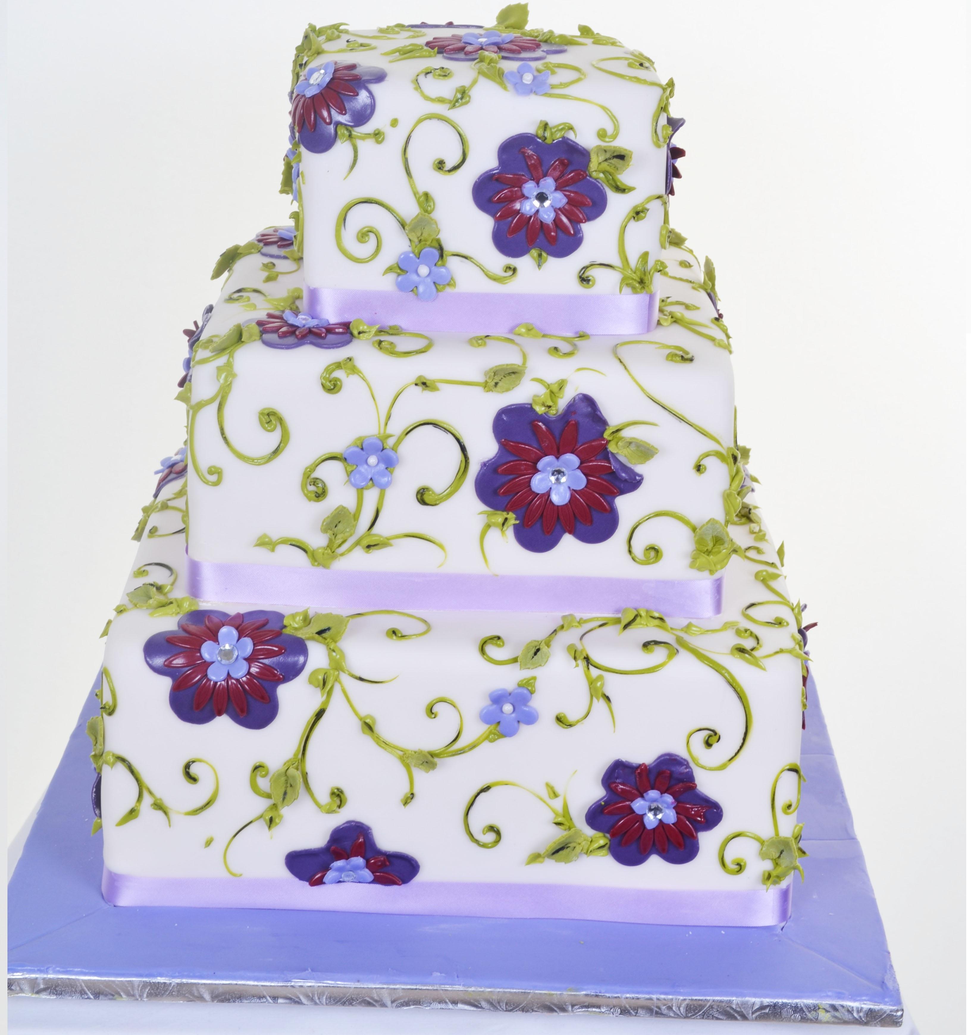 Pastry Palace Las Vegas Wedding Cake 708 - Tapestry