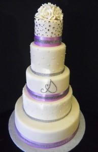 Pastry Palace Wedding Cake #709