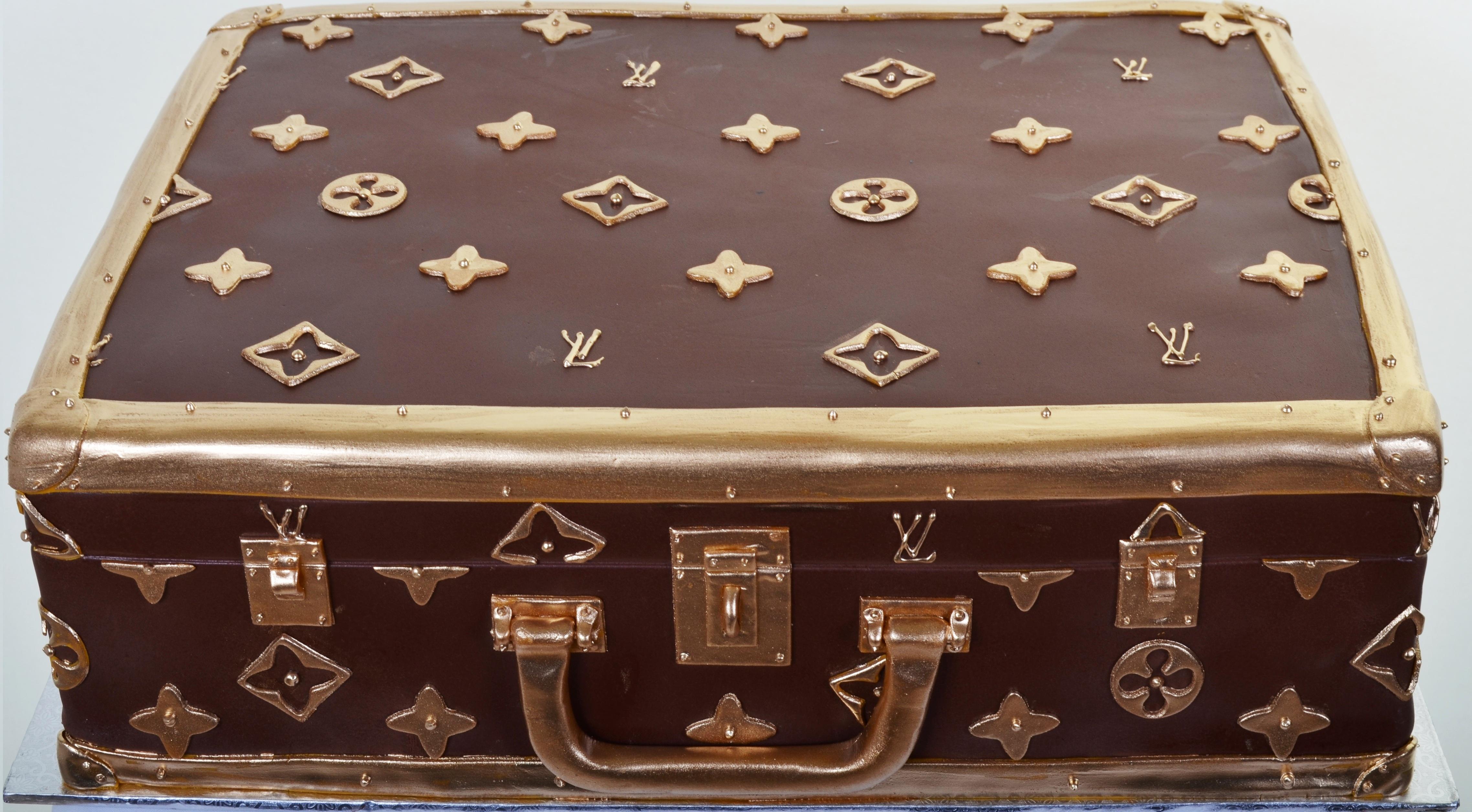 740 Louis Vuitton Briefcase Wedding Cakes Fresh Bakery