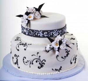 Pastry Palace Wedding Cake #790