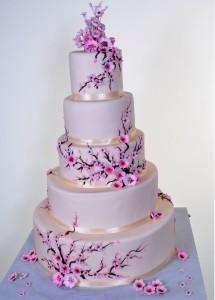 Pastry Palace Wedding Cake #796