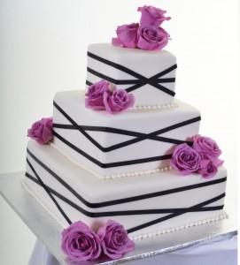 Pastry Palace Wedding Cake #808
