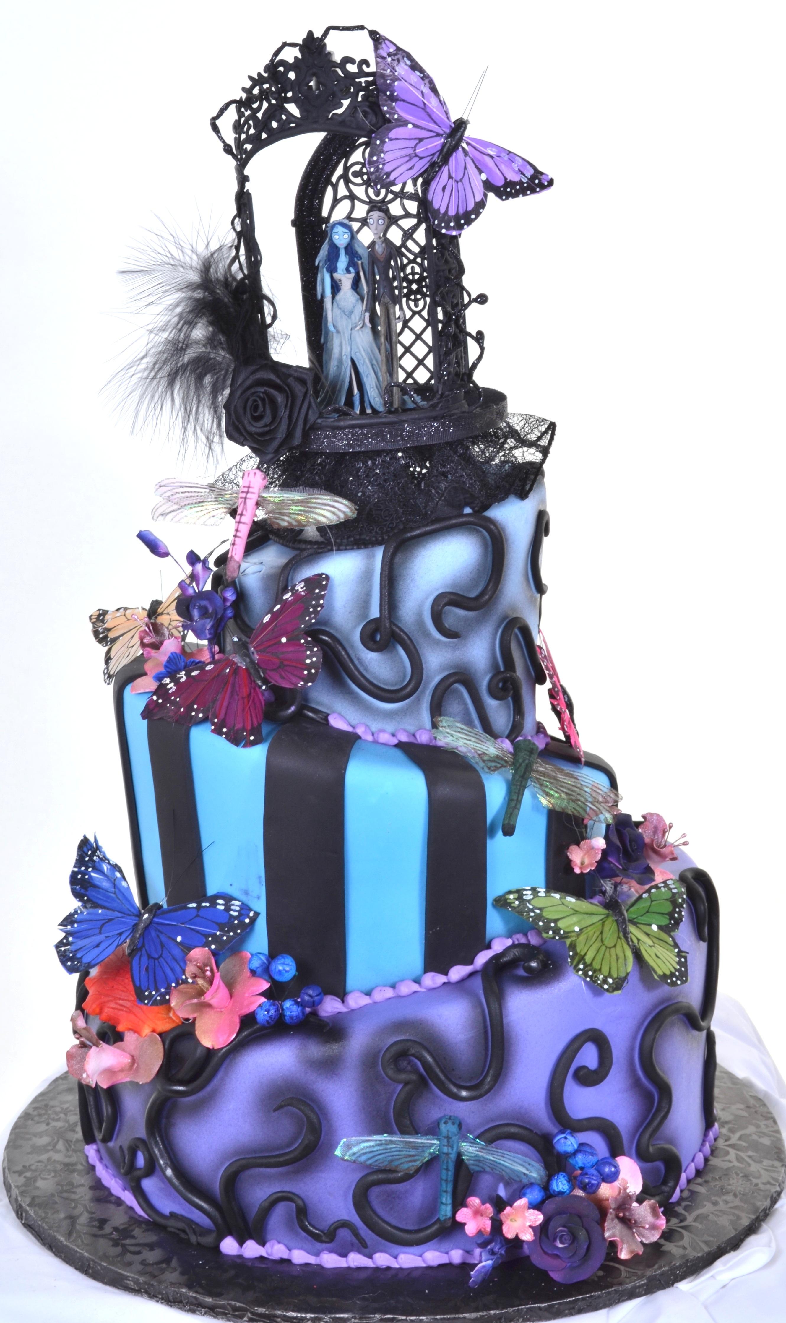 Pastry Palace Las Vegas - Wedding Cake 86 - Spooktacular