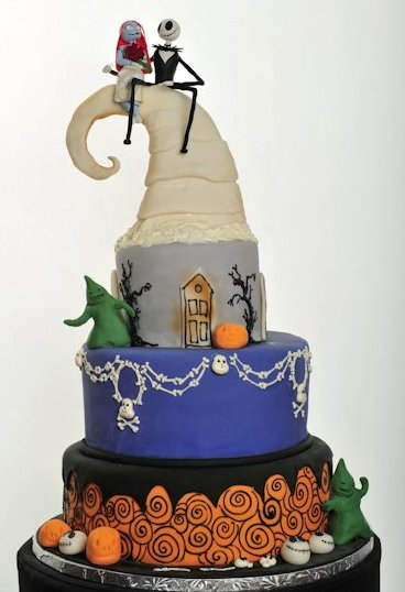 Pastry Palace Las Vegas #910 Wedding Cake - Wedding Before Halloween