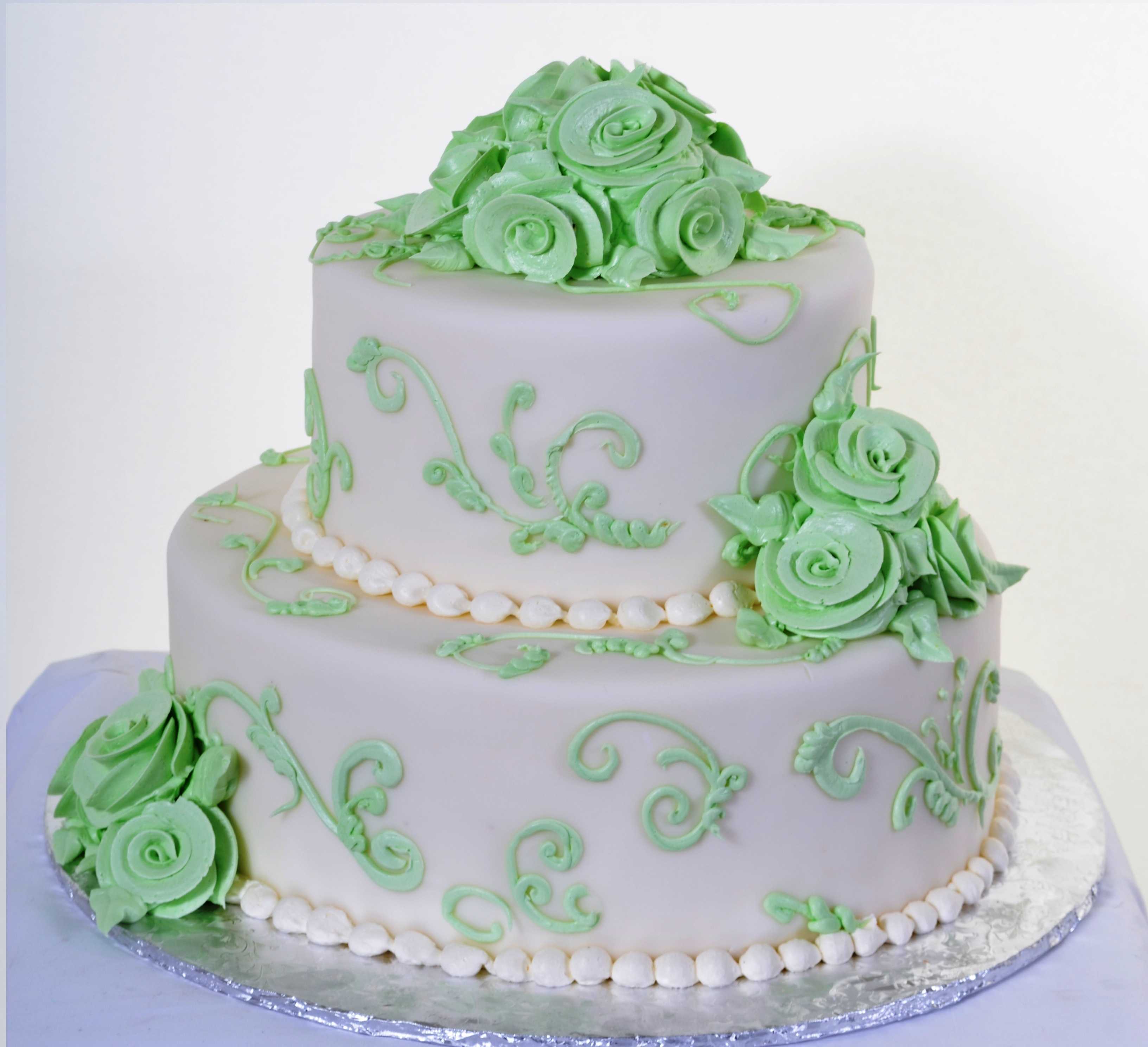 Pastry Palace Las Vegas - Cake 923 - Green Spring