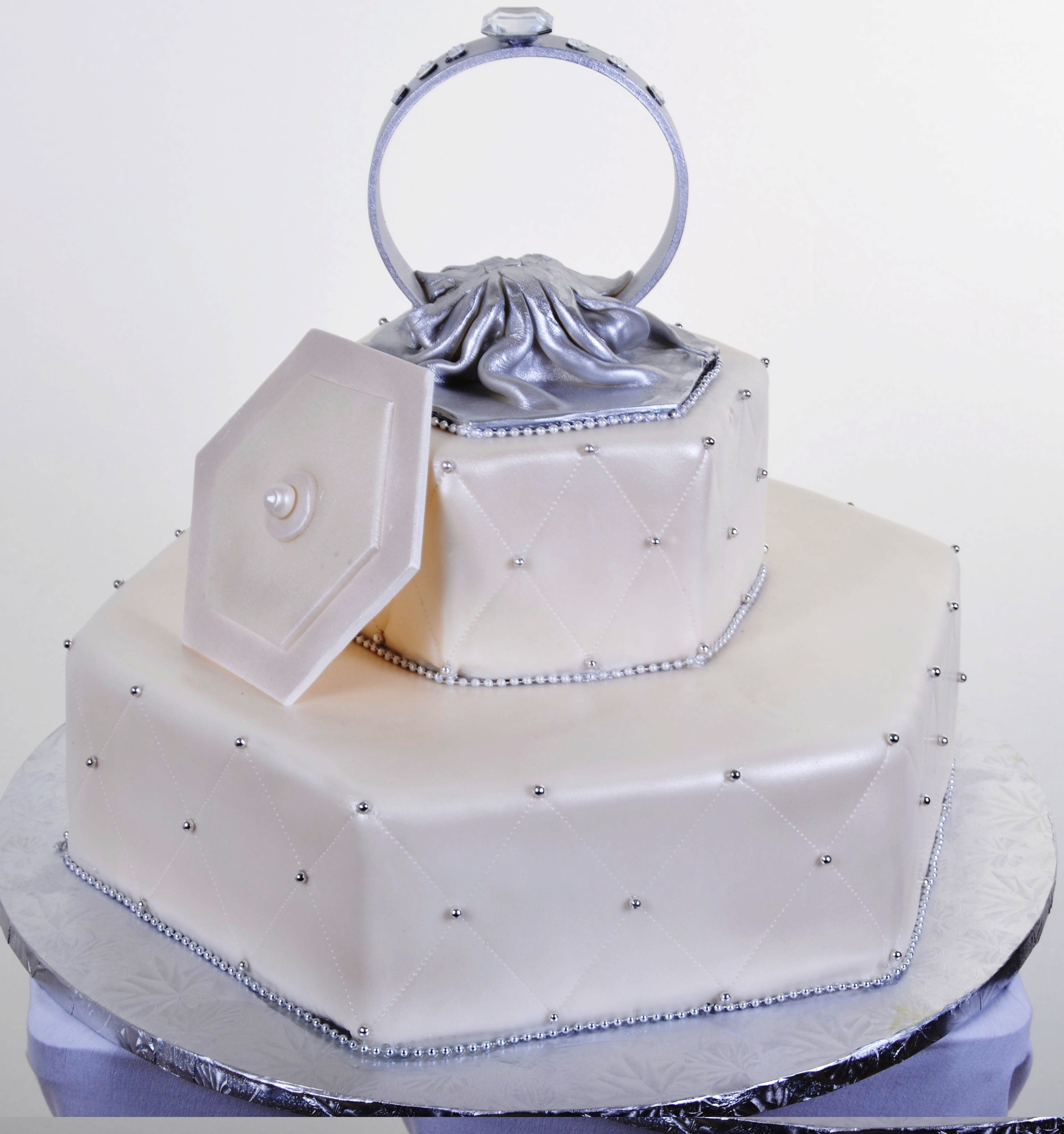 Pastry Palace Las Vegas - Cake #924 - Put A Ring On It