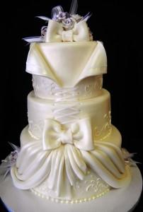 Pastry Palace Wedding Cake #927