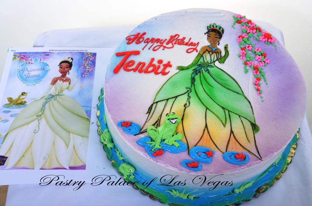 630 Princess Tiana Wedding Cakes Fresh Bakery Pastry Palace
