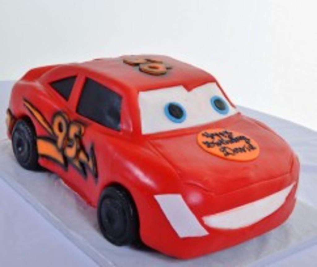 Lightning McQueen - Cake #679