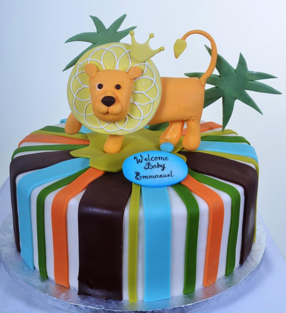 Pastry Palace Las Vegas - Baby Shower Cake #759 - Baby Simba