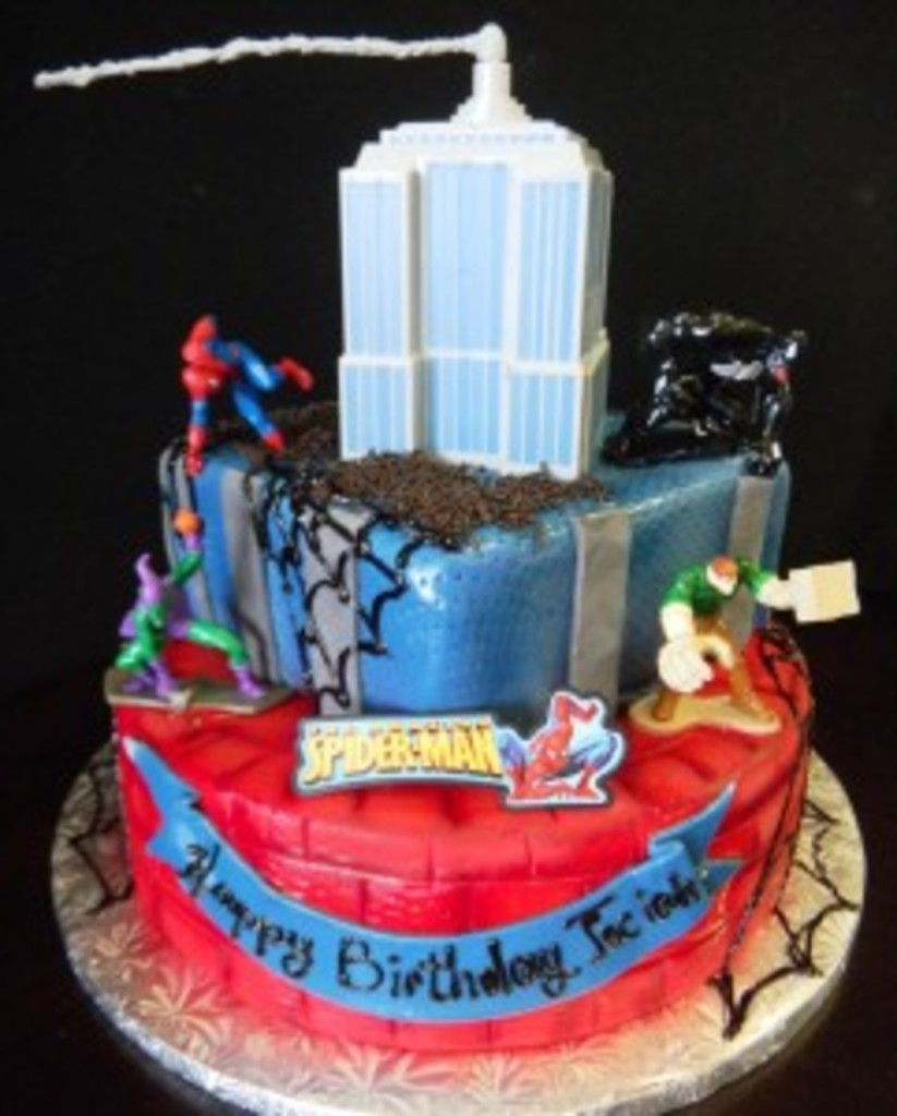 Spiderman Cake #766