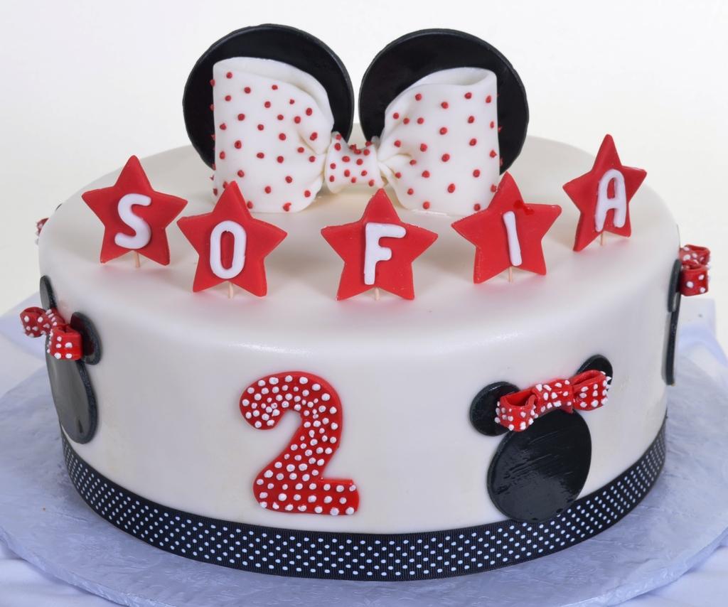 Pastry Palace Las Vegas - Cake 815 - Minnie Birthday