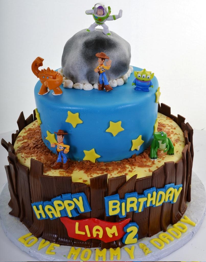 Toy Story Cake 850 - Pastry Palace Las Vegas