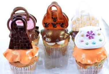Pastry Palace Las Vegas 967 Handbag Collection Cupcakes
