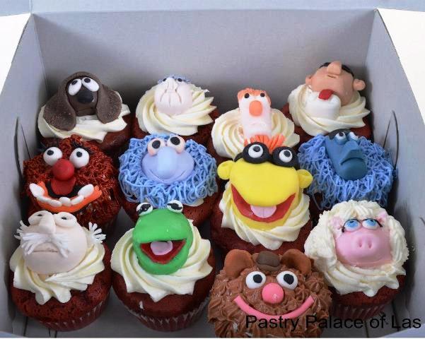 Pastry Palace Las Vegas Cupcakes #969 - Sesame Street Pals