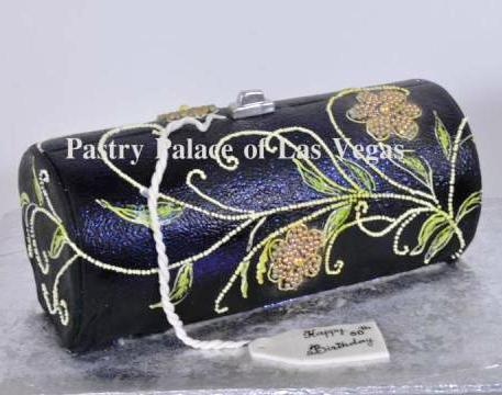 Pastry Palace Las Vegas 991 Beaded Handbag