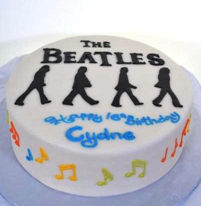 Groovy 1024 The Beatles Abbey Road Wedding Cakes Fresh Bakery Funny Birthday Cards Online Alyptdamsfinfo