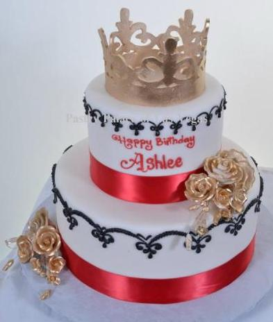 1043 Birthday Queen Wedding Cakes