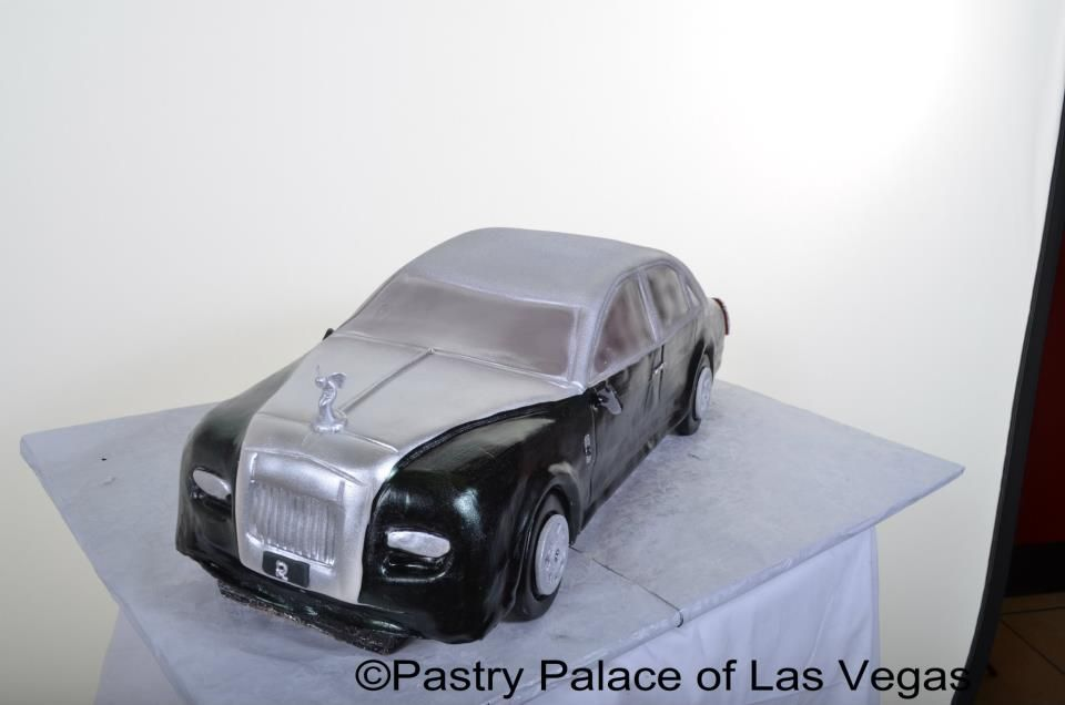 Pastry Palace Las Vegas - Specialty Cake 1105 - Rolls Royce