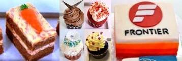 Carrot - Cupcake - Logo Cake