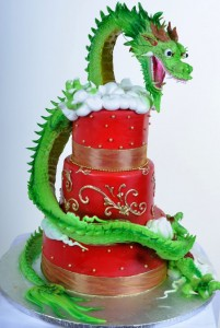 Dragon in the Clouds - Cake #799