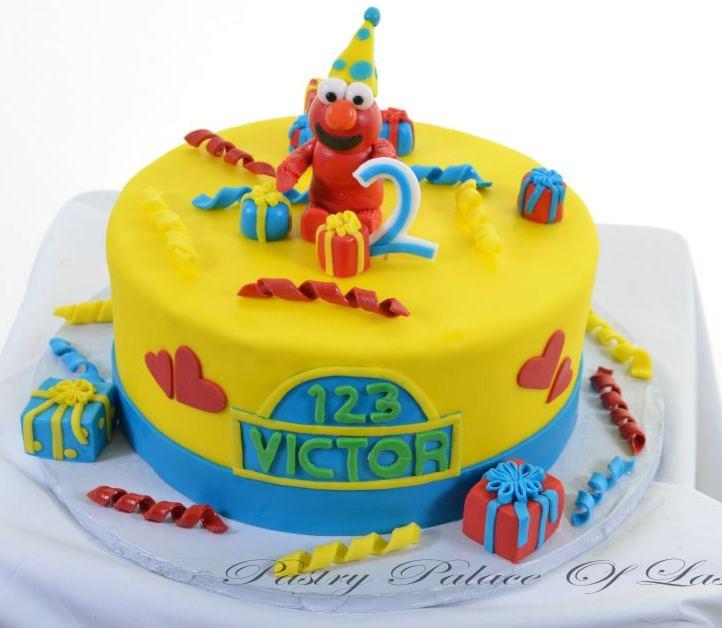 Elmo's Party Cake 1066 - Pastry Palace Las Vegas
