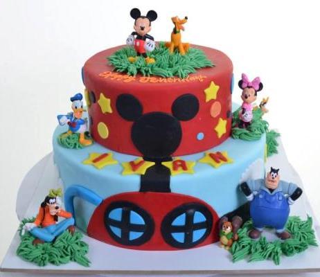 Pastry Palace Las Vegas - Cake 1093 - Mickey & Friends 2