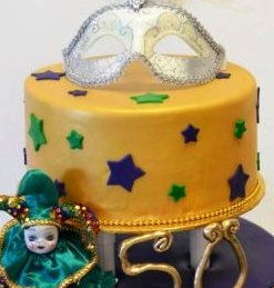 Swell 1111 Mardi Gras Birthday Wedding Cakes Fresh Bakery Pastry Funny Birthday Cards Online Alyptdamsfinfo