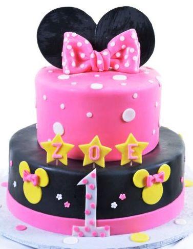 Pastry Palace Las Vegas - Cake 1112 - Minnie's First
