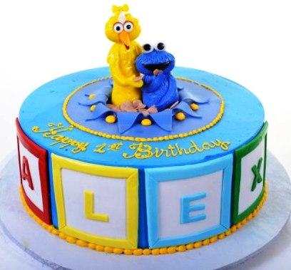 Sesame Street Cake 1116 - Pastry Palace Las Vegas